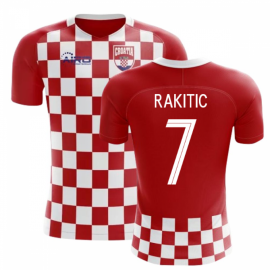 2020-2021 Croatia Flag Concept Football Shirt (Rakitic 7)