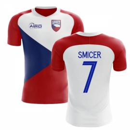 45c5d317d99 2018-2019 Czech Republic Home Concept Football Shirt (SMICER 7) - Kids