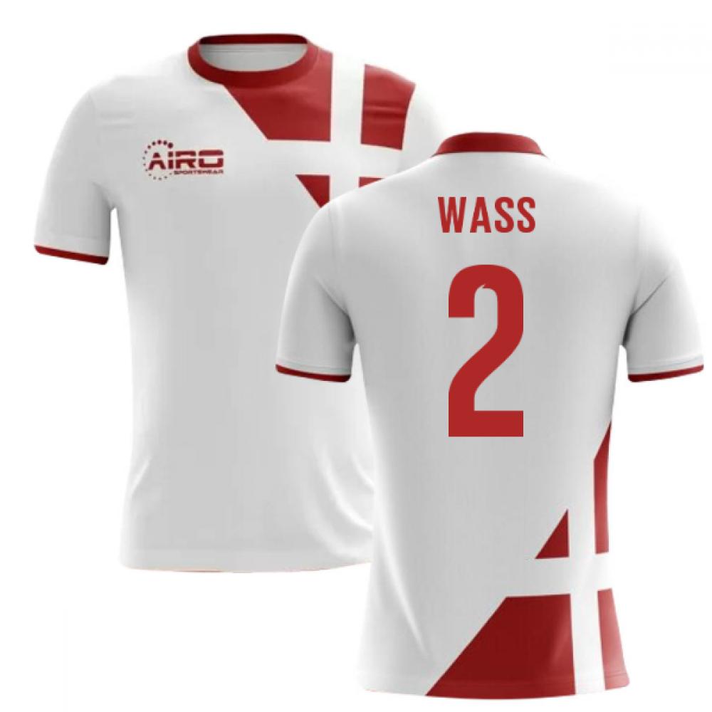7fbb0e98071 2018-2019 Denmark Away Concept Football Shirt (Wass 2) - Kids
