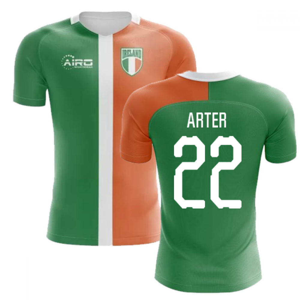 2020-2021 Ireland Flag Concept Football Shirt (Arter 22)