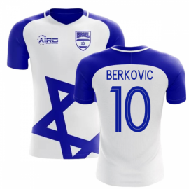 2018-2019 Israel Home Concept Football Shirt (BERKOVIC 10)