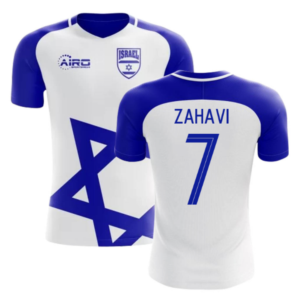 2018-2019 Israel Home Concept Football Shirt (Zahavi 7)