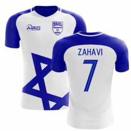 2018-2019 Israel Home Concept Football Shirt (Zahavi 7) - Kids