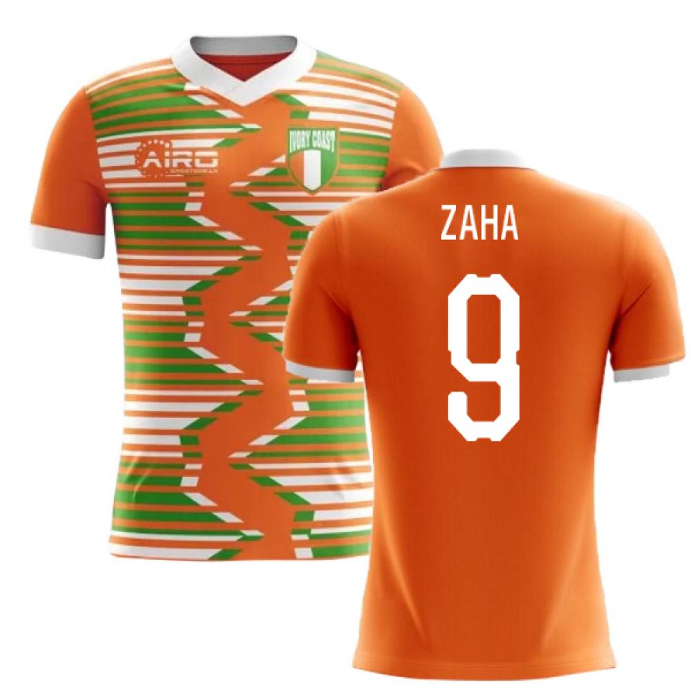 2020-2021 Ivory Coast Home Concept Football Shirt (Zaha 9)