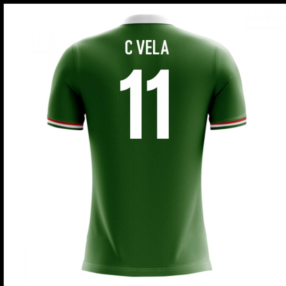 2018-2019 Mexico Airo Concept Home Shirt (C Vela 11)