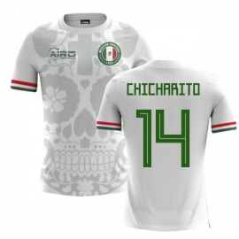 2018-2019 Mexico Away Concept Football Shirt (Chicharito 14) - Kids