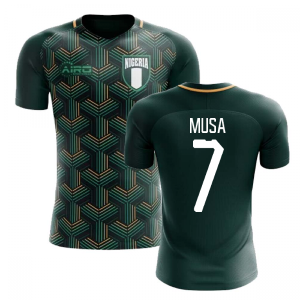 2020-2021 Nigeria Third Concept Football Shirt (Musa 7) - Kids