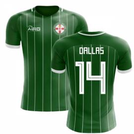 2020-2021 Northern Ireland Home Concept Football Shirt (Dallas 14) - Kids