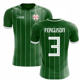2020-2021 Northern Ireland Home Concept Football Shirt (Ferguson 3) - Kids