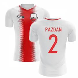 2018-2019 Poland Home Concept Football Shirt (Pazdan 2) c81254b41