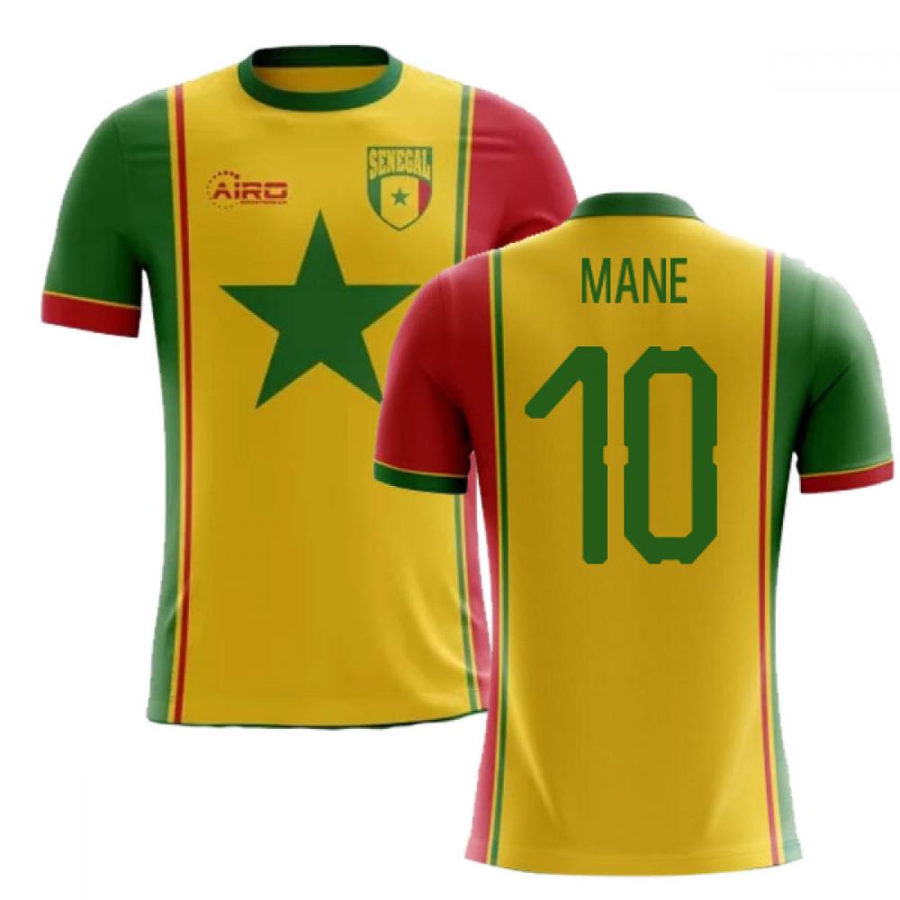 f5be82192ae 2018-2019 Senegal Third Concept Football Shirt (Mane 10)