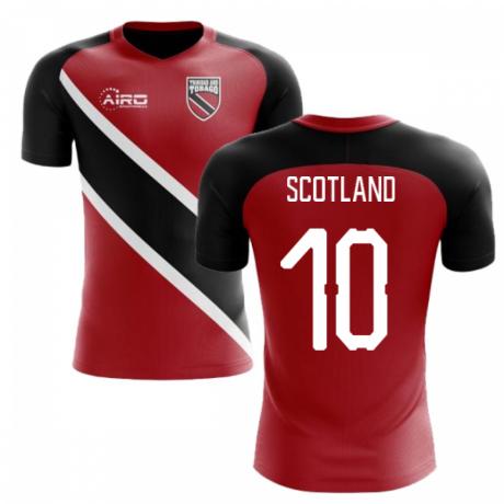 2018-2019 Trinidad And Tobago Home Concept Football Shirt (Scotland 10) - Kids