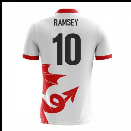 2018-2019 Wales Airo Concept Away Shirt (Ramsey 10)