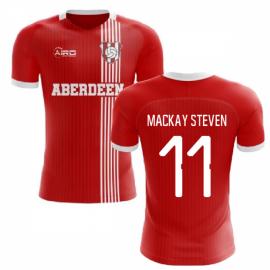 2020-2021 Aberdeen Home Concept Football Shirt (Mackay Steven 11)