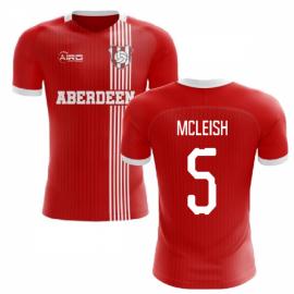 2020-2021 Aberdeen Home Concept Football Shirt (McLeish 5)