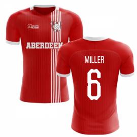 2020-2021 Aberdeen Home Concept Football Shirt (Miller 6)