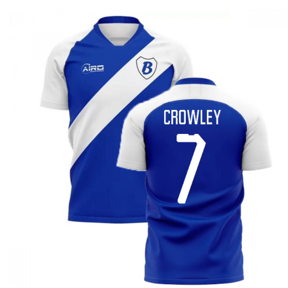 2020-2021 Birmingham Home Concept Football Shirt (Crowley 7)