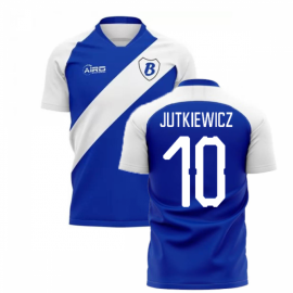 2020-2021 Birmingham Home Concept Football Shirt (Jutkiewicz 10)