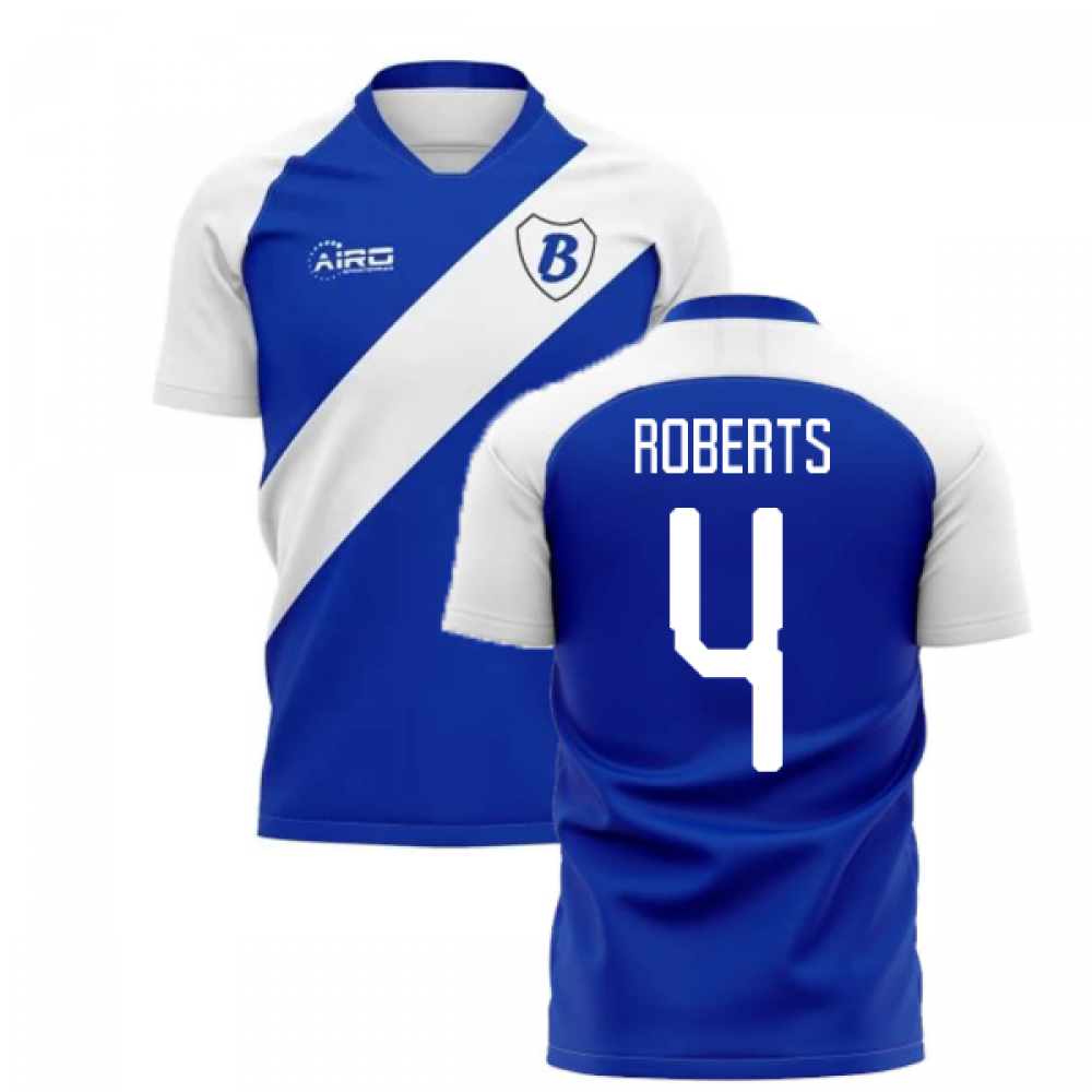 2020-2021 Birmingham Home Concept Football Shirt (Roberts 4)