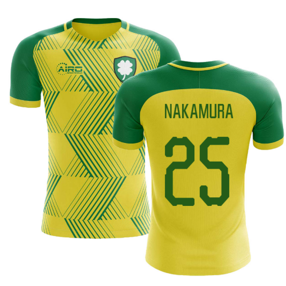 the latest 59cec 262db 2019-2020 Celtic Away Concept Football Shirt (Nakamura 25)