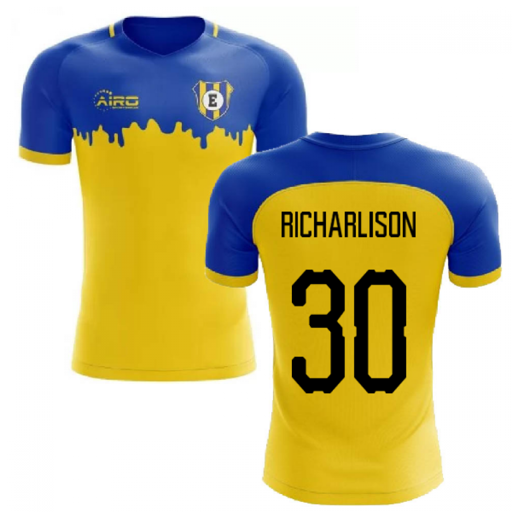 cheap for discount 6b1b0 4700a 2019-2020 Everton Away Concept Football Shirt (RICHARLISON 30)