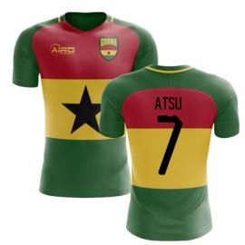 2019-2020 Ghana Flag Concept Football Shirt (Atsu 7) - Kids