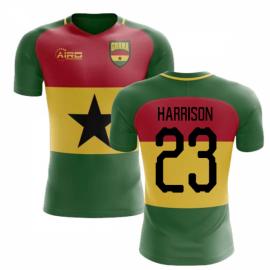 2019-2020 Ghana Flag Concept Football Shirt (Harrison 23) - Kids