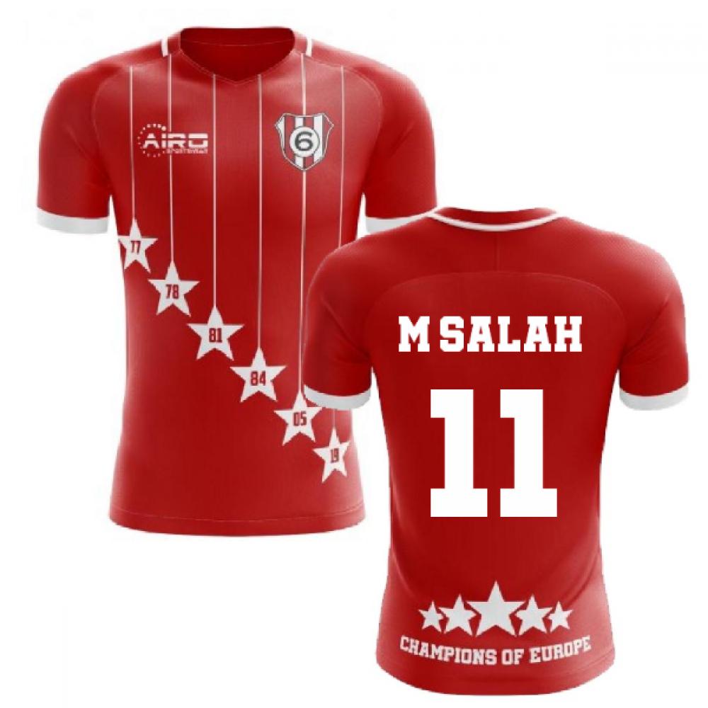 watch 5e522 7d3f5 2019-2020 Liverpool 6 Time Champions Concept Football Shirt ...