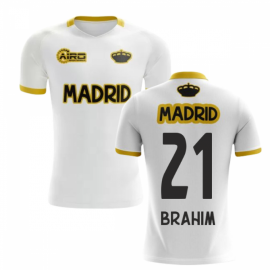 2019-2020 Madrid Concept Training Shirt (White) (BRAHIM 21) - Kids