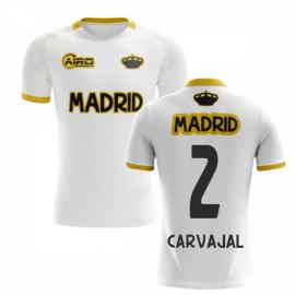 2019-2020 Madrid Concept Training Shirt (White) (CARVAJAL 2) - Kids