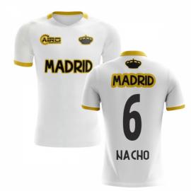 2019-2020 Madrid Concept Training Shirt (White) (NACHO 6)