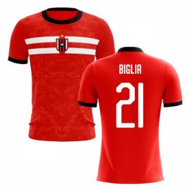 2019-2020 Milan Away Concept Football Shirt (Biglia 21) - Kids