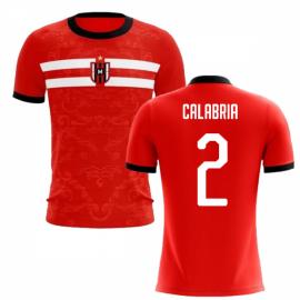 2019-2020 Milan Away Concept Football Shirt (Calabria 2)