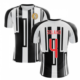 2020-2021 Newcastle Home Concept Football Shirt (SOLANO 4)