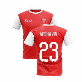 2019-2020 North London Home Concept Football Shirt (ARSHAVIN 23)