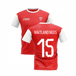 2019-2020 North London Home Concept Football Shirt (MAITLAND NILES 15)