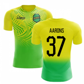 2020-2021 Norwich Home Concept Football Shirt (Aarons 37) - Kids