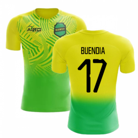 2020-2021 Norwich Home Concept Football Shirt (Buendia 17) - Kids