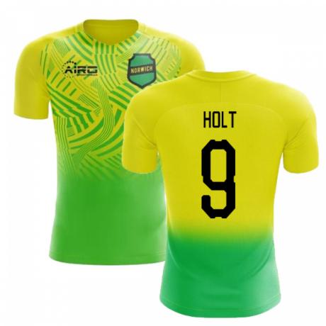 2020-2021 Norwich Home Concept Football Shirt (Holt 9) - Kids
