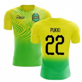 2020-2021 Norwich Home Concept Football Shirt (Pukki 22)