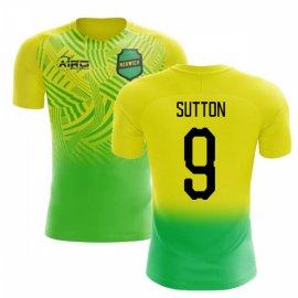 2020-2021 Norwich Home Concept Football Shirt (Sutton 9)