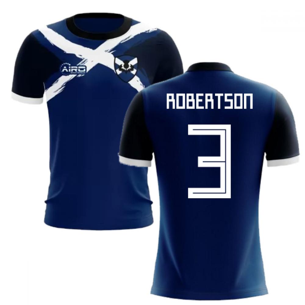 2019-2020 Scotland Flag Concept Football Shirt (Robertson 3)