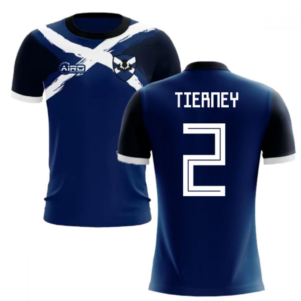 2019-2020 Scotland Flag Concept Football Shirt (Tierney 2)