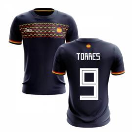2019-2020 Spain Away Concept Football Shirt (Torres 9)