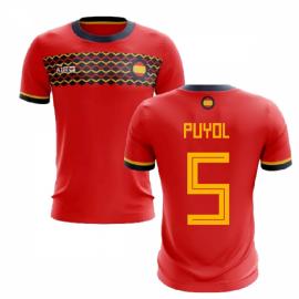 2019-2020 Spain Home Concept Football Shirt (Puyol 5)