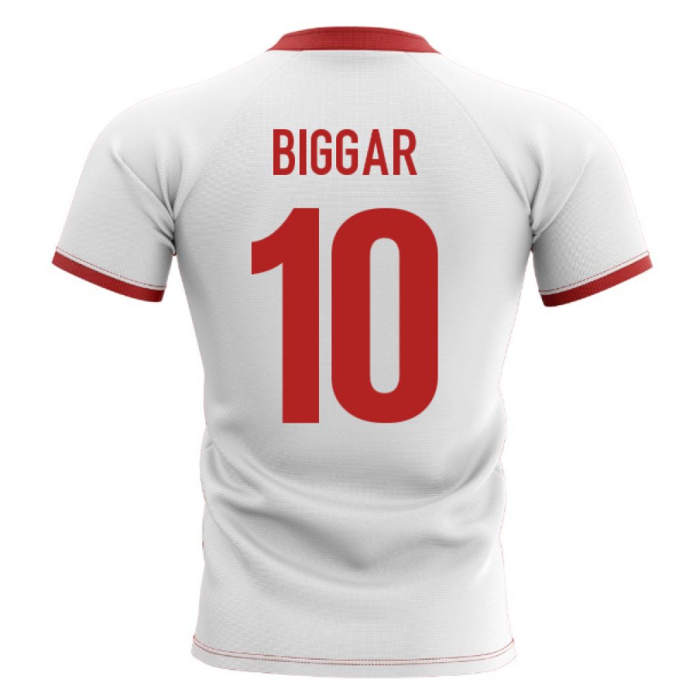 2019-2020 Wales Flag Concept Rugby Shirt (Biggar 10)