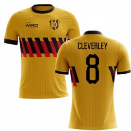 2020-2021 Watford Home Concept Football Shirt (Cleverley 8) - Kids