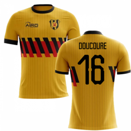 2020-2021 Watford Home Concept Football Shirt (Doucoure 16) - Kids