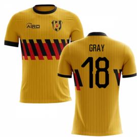 2020-2021 Watford Home Concept Football Shirt (Gray 18) - Kids