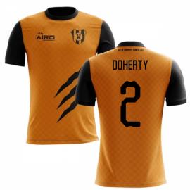 2020-2021 Wolverhampton Home Concept Football Shirt (Doherty 2)
